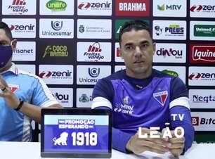 """FORTALEZA: """"O clube é mais importante do que eu ser titular"""", defende Felipe Alves sobre o seu retorno a titularidade após período no banco de reservas"""
