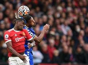 Em jogo disputado, Manchester United e Everton empatam