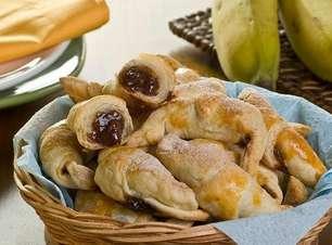 Croissants doces para sobremesas incríveis
