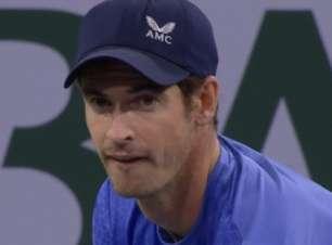 Murray vira batalha de 3h contra Alcaraz e vai à 3ª rodada de Indian Wells