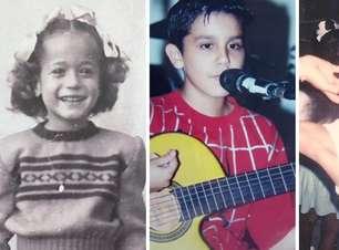 Fofura! Confira as fotos dos famosos na infância