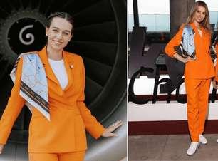 Companhia aérea cria uniforme confortável para comissárias
