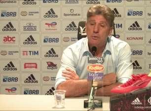 """FLAMENGO: """"Todo jogador que tem entrado, tem dado conta do recado"""", avalia Renato Gaúcho ao comentar a força do elenco em meio a tantas baixas"""