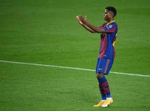 Ansu Fati avisa ao empresário que quer renovar com o Barcelona