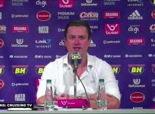 """CRUZEIRO: Presidente rebate matérias e revela como foi reunião com empresários para ajudar o clube: """"Convidei para participarem das decisões do dia a dia"""""""