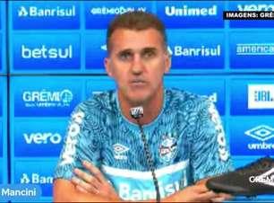 """GRÊMIO: Mancini aponta 'grandeza do clube' como fator decisivo para assumir a equipe em um momento delicado da temporada: """"Sei do potencial"""""""