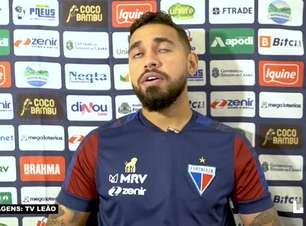 "FORTALEZA: Felipe fala dos cuidados para se manter na parte de cima da tabela: ""Temos que pontuar ao máximo dentro e fora de casa"""