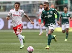 Em duelo direto pelo G4, Palmeiras vence o Internacional