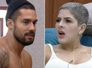 """Bil Araújo se recusa a bater no bumbum de Lary e público reage: """"Não gosta de mulher"""""""