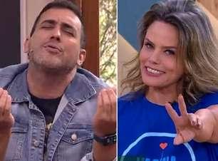 André Marques flerta ao vivo com Maria Cândida e pega todos de surpresa