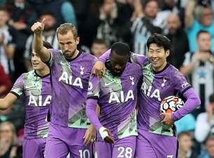Tottenham vence Newcastle de virada; Everton perde em casa
