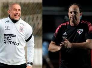 Em reencontro com Sylvinho após 22 anos, Ceni desafia retrospecto ruim como técnico contra time alvinegro