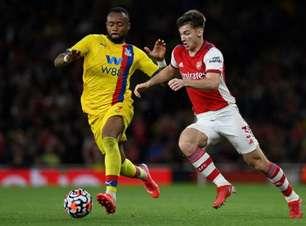 Arsenal marca no último lance e fica no empate com o Crystal Palace na Premier League