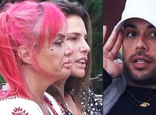 A Fazenda 2021: Valentina e Dayane reclamam da chatice e arrogância de Gui Araújo