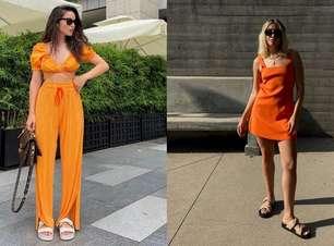 Quanto mais laranja, melhor: saiba como usar a cor da primavera