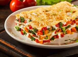 Segunda Sem Carne: 5 lasanhas vegetarianas irresistíveis!