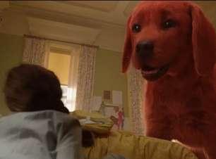 Assista ao novo trailer de Clifford: O Gigante Cão Vermelho
