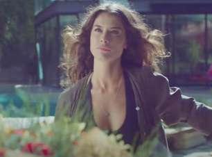 Alinne Moraes vive susto com personagem em nova novela da Globo
