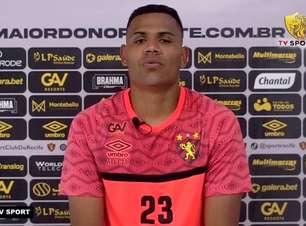 """SPORT: Mikael comenta parceria com Gustavo Oliveira no ataque: """"Queremos dar ainda mais felicidade pra torcida"""""""