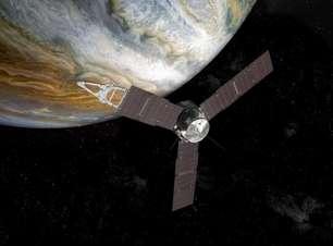 NASA divulga novas e raras fotos do entorno de Júpiter tiradas pela Juno