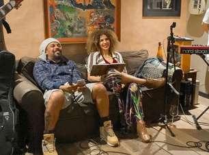 Vanessa da Mata e Marcelo Falcão cantam o fim do isolamento social