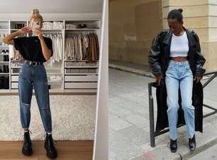 Mom Jeans: saiba compor looks com a peça clássica