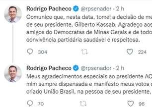 Pacheco confirma filiação ao PSD e avança na construção de candidatura a presidente