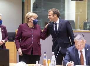 Merkel recebe despedida calorosa em cúpula da União Europeia