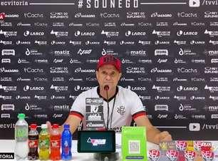"""VITÓRIA: Wagner Lopes conta com a presença da torcida para enfrentar o Brasil de Pelotas: """"A torcida é preponderante, um fator motivacional muito grande"""""""