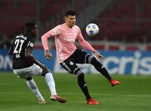 Internacional e Bragantino empatam em jogo atrasado do BR