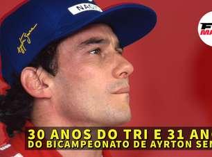 Em Dia: 30 anos do tri e 31 anos do bicampeonato de Ayrton Senna