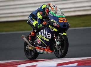 Antonelli sobra em Misano e crava pole da Moto3. Acosta é quinto, com Foggia só em 14º