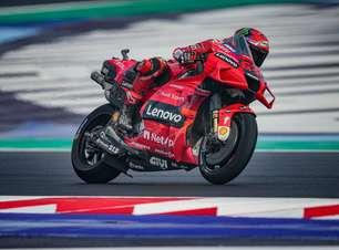 Bagnaia domina Misano e puxa 1-2-3 da Ducati no grid da MotoGP. Quartararo é só 15º