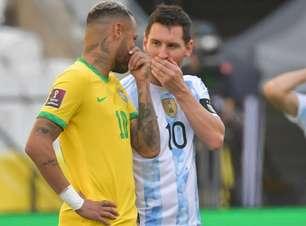 Brasil e Argentina podem ser convidados para torneio da Uefa