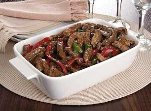 Carne em tiras: almoço pronto em 30 minutos
