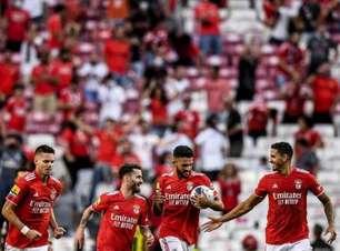 Com gol nos acréscimos, Benfica vence o Vizela e assume a liderança da Primeira Liga