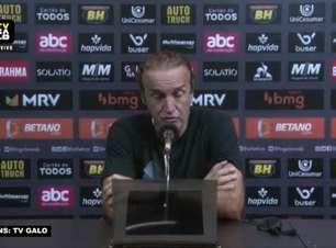 ATLÉTICO-MG: Cuca avalia falha defensiva que fez equipe começar partida atrás do placar e comenta virada ainda no primeiro tempo