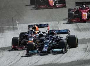 """Hamilton admite Red Bull melhor nos EUA e espera """"dureza"""" nos GPs do México e SP"""