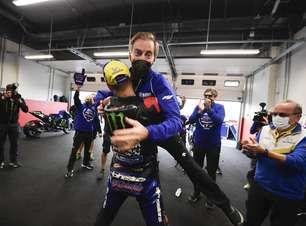 """Diretor da Yamaha compara Quartararo com Rossi e diz: """"Superou nossas expectativas"""""""
