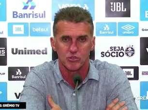 """GRÊMIO: Mancini prefere não falar de erro de Paulo Miranda após pênalti e expulsão: """"não vou analisar jogador individualmente"""""""