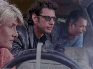 Laura Dern descreve experiência de filmar novamente com seus colegas de Jurassic Park