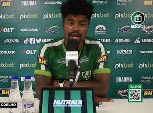 """AMÉRICA-MG: """"Todo alerta é pouco"""", reconhece Eduardo Bauermann ao falar dos cuidados que a equipe deve ter na reta final do Brasileiro"""