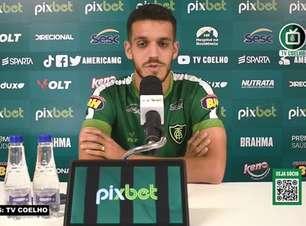 """AMÉRICA-MG: Lucas Kal espera jogo intenso contra o Fortaleza, espera dificuldade, mas garante: """"Temos total capacidade de conseguir o resultado positivo"""""""