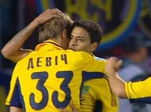 Metalist faz dois a um sobre o Zorya com gol brasileiro