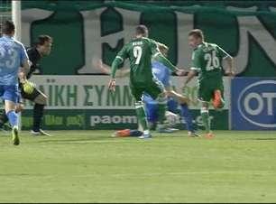 Grego: atacante do Panathinaikos assume artilharia; veja gols