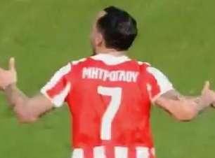 Veja os gols de Olympiacos 2 x 1 Platanias pelo Grego