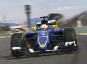 Dê uma volta nas pista com o companheiro de Felipe Nasr