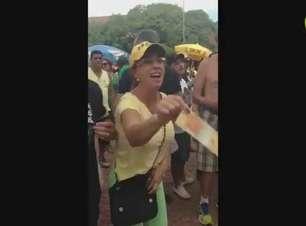 """Grupo é hostilizado por manifestantes após """"coxinhaço"""" no RS"""