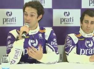 Bruno Senna comemora chance de correr contra Prost