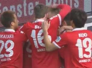 Veja os lances de Mainz 1 x 1 Wolfsburg pelo Alemão